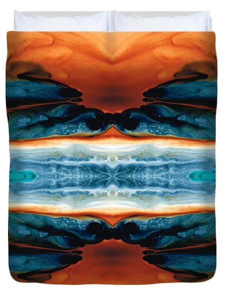 Enigma - Conscious Art By Sharon Cummings Duvet Cover