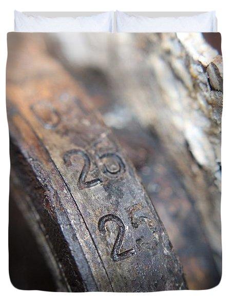 Enigma Rotor Duvet Cover