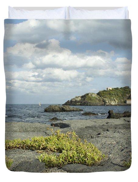 Enjoy The Silence Duvet Cover by Donato Iannuzzi