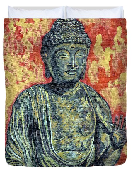 Enlightenment Duvet Cover by Tom Roderick