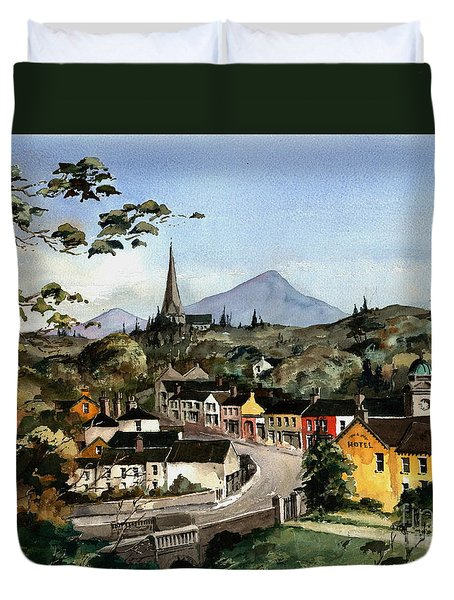 Enniskerry Panorama Wicklow Duvet Cover