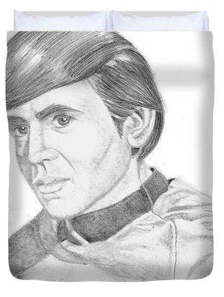 Ensign Pavel Chekov Duvet Cover