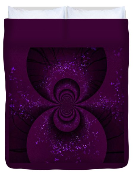 Enter The Fairy Realm Duvet Cover