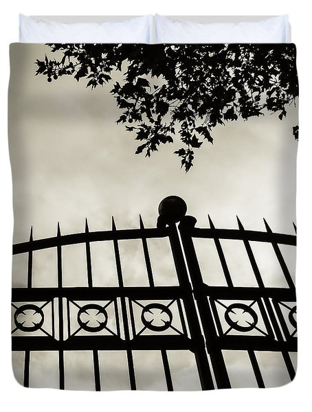 Entrances To Exits - Gates Duvet Cover