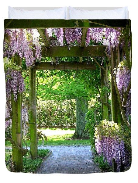 Entranceway To Fantasyland Duvet Cover