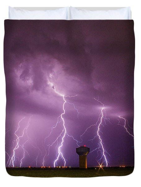 Epic Lightning Duvet Cover