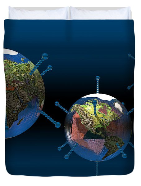 Epidemic Duvet Cover by Carol and Mike Werner