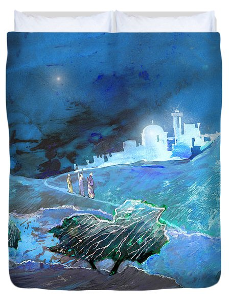 Epiphany Duvet Cover by Miki De Goodaboom