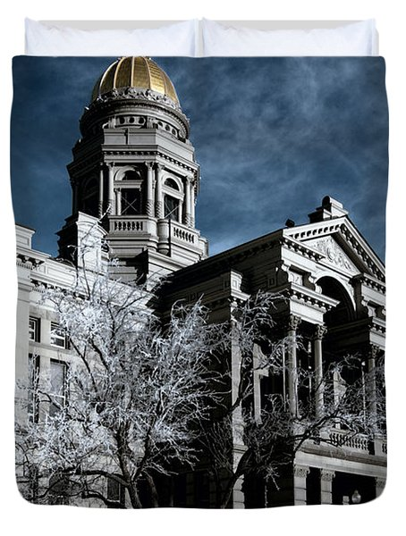Equality State Dome Duvet Cover by Greg Collins