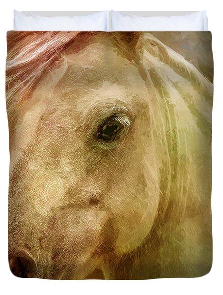 Equine Fantasy Duvet Cover by EricaMaxine  Price