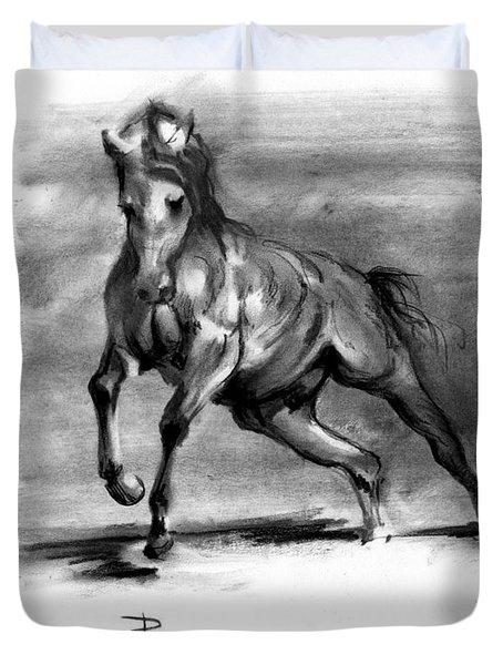 Equine IIi Duvet Cover