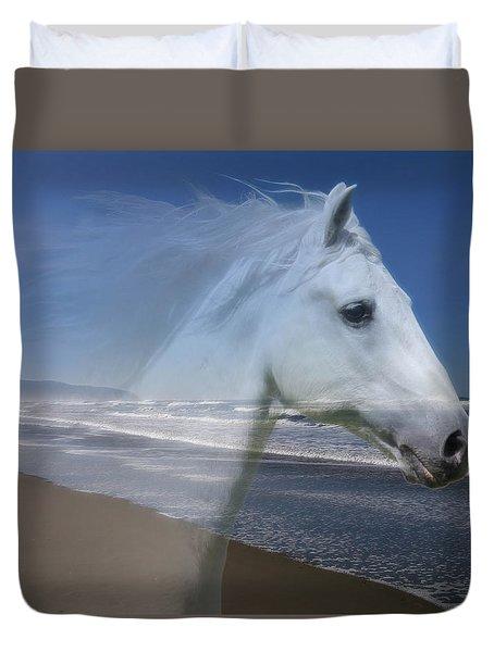 Equine Shores Duvet Cover