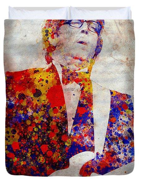 Eric Claptond Duvet Cover