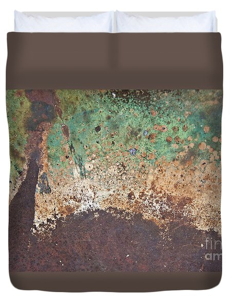 Eruption Volcanic Abstract Duvet Cover