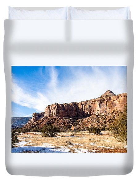 Escalante Canyon Duvet Cover
