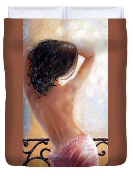 Ephemeral Duvet Cover