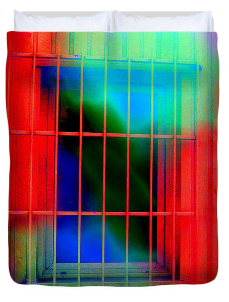 Duvet Cover featuring the mixed media Escaping Dreams One by Sir Josef - Social Critic - ART