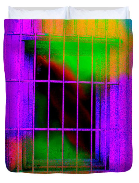 Duvet Cover featuring the photograph Escaping Dreams Three by Sir Josef - Social Critic - ART