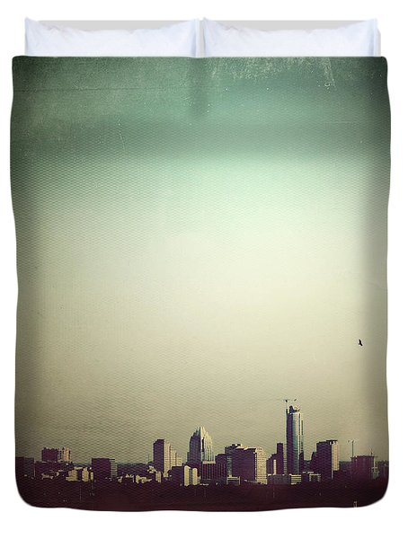 Escaping The City Duvet Cover