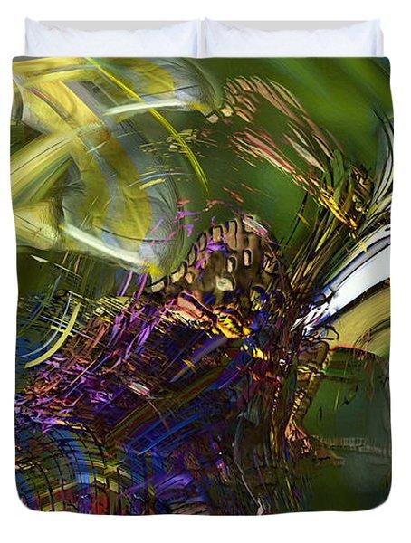 Esprit Du Jardin Duvet Cover by Richard Thomas