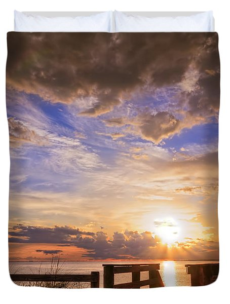 Essence Of Light Duvet Cover