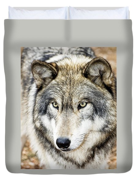 Essence Of Wolf Duvet Cover