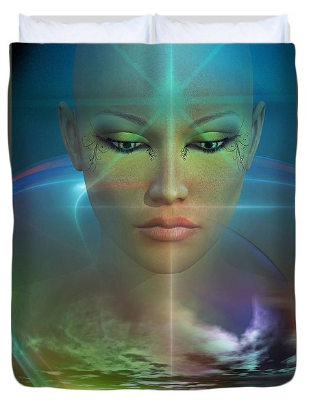 Essence Duvet Cover by Shadowlea Is