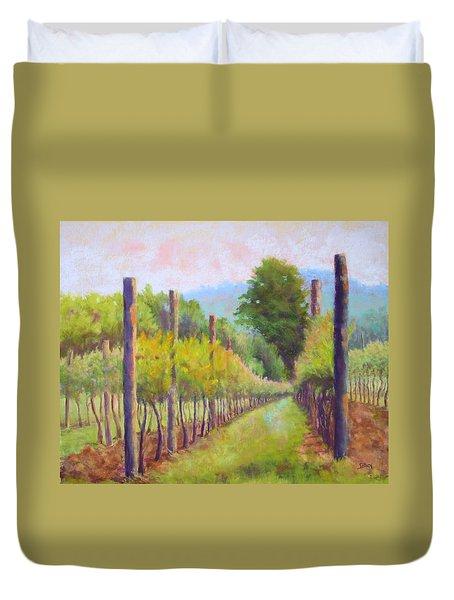 Estate Pinot Duvet Cover