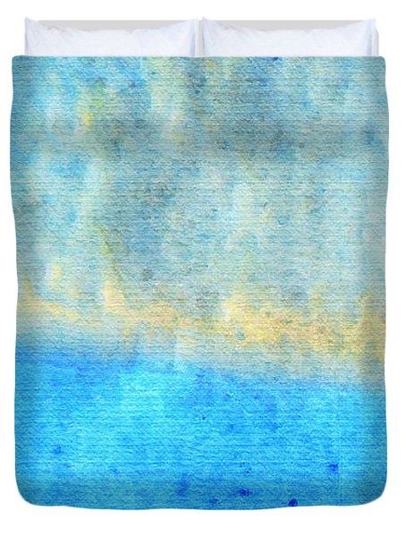 Eternal Blue - Blue Abstract Art By Sharon Cummings Duvet Cover by Sharon Cummings