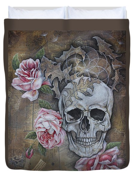 Eternal Duvet Cover by Sheri Howe
