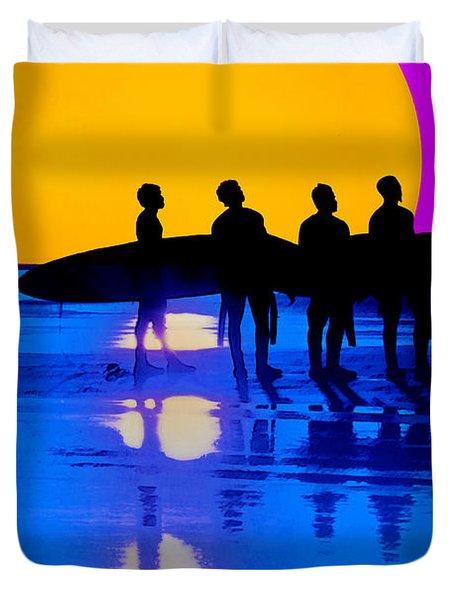 Eternal Summer Duvet Cover by Lisa Knechtel