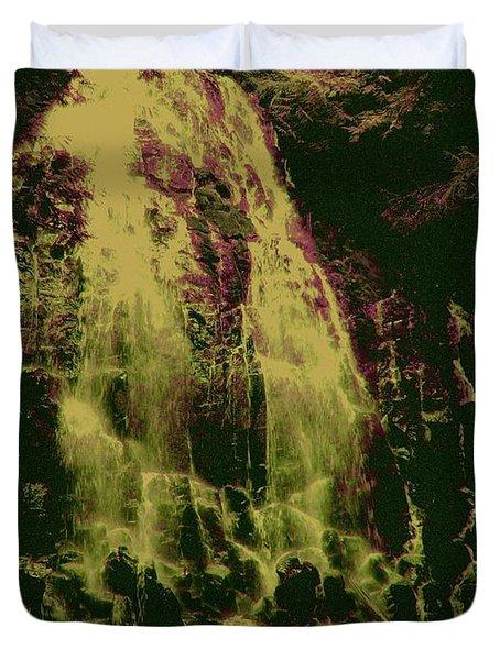 Ethereal Flow Duvet Cover