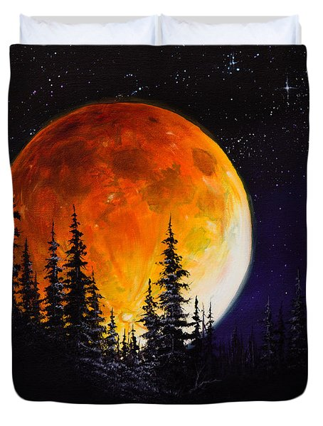 Ettenmoors Moon Duvet Cover