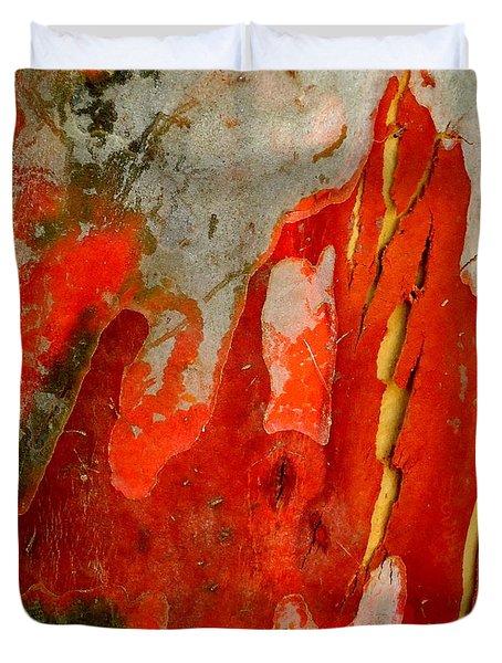 Eucalyptus Bark Duvet Cover