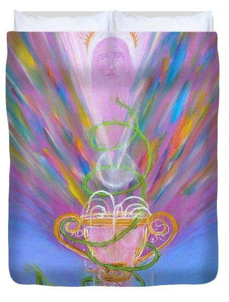 Eucharist Duvet Cover