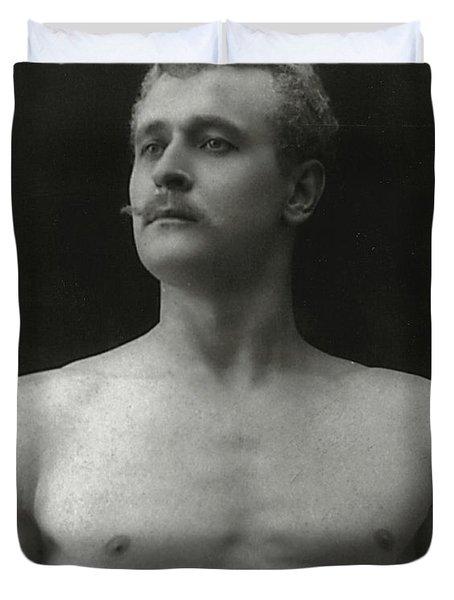 Eugen Sandow Duvet Cover