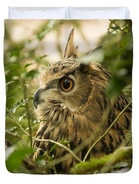 Eurasian Eagle-owl 2 Duvet Cover