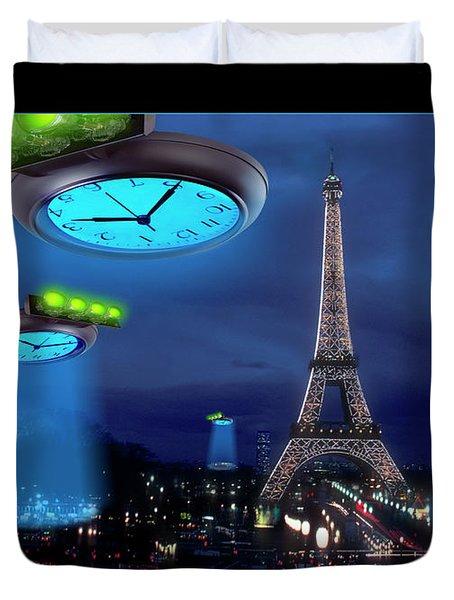 European Time Traveler Duvet Cover by Mike McGlothlen