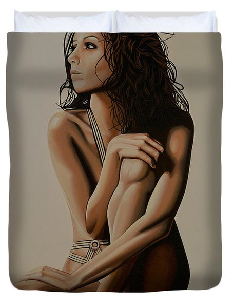 Eva Longoria Painting Painting By Paul Meijering
