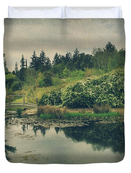 Even After You're Gone Duvet Cover by Laurie Search
