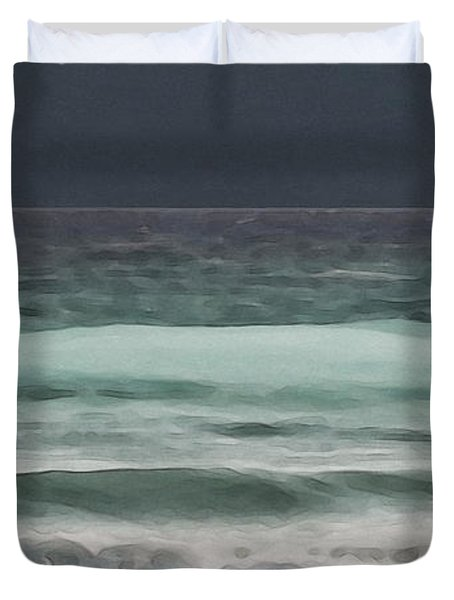 Even Tides Duvet Cover