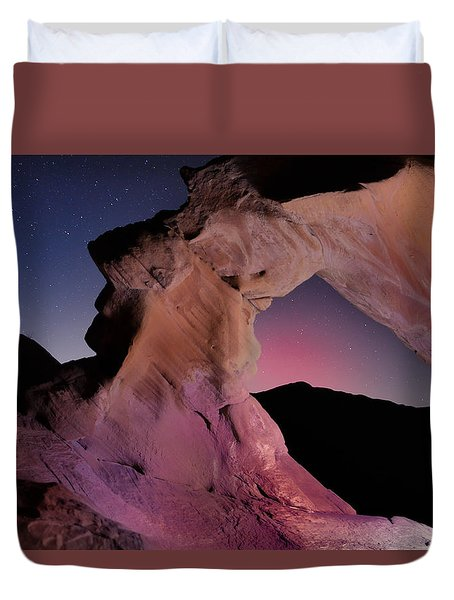 Evening Arch Duvet Cover by Rick Berk