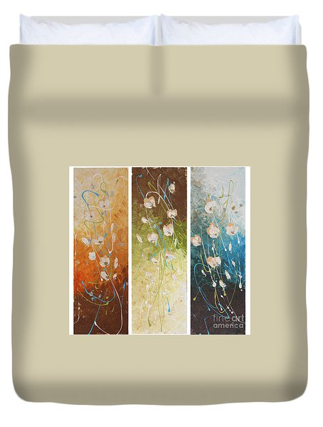 Evening Blossom Duvet Cover