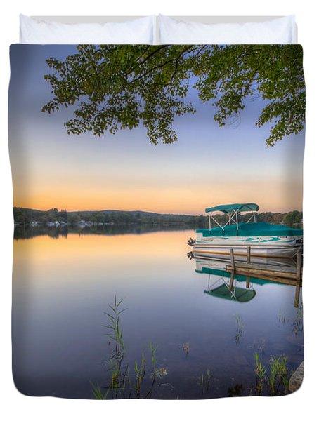 Evening Calm Duvet Cover by Evelina Kremsdorf