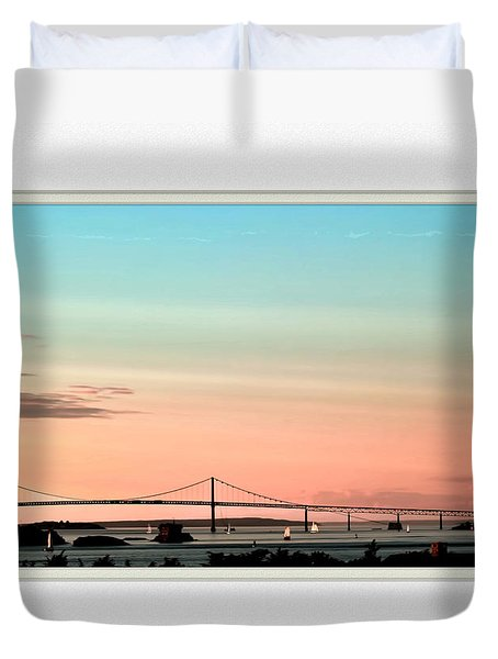 Evening Glow Duvet Cover by Tom Prendergast