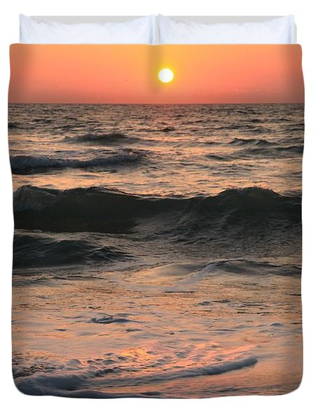 Evening Pastels Duvet Cover by Adam Jewell