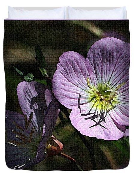Evening Primrose Duvet Cover