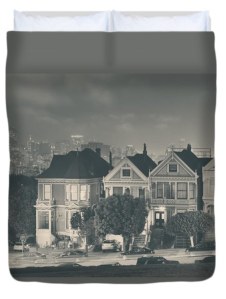 Evening Rendezvous Duvet Cover