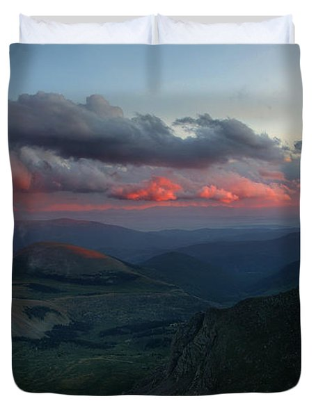 Evening Shade Duvet Cover by Jim Garrison
