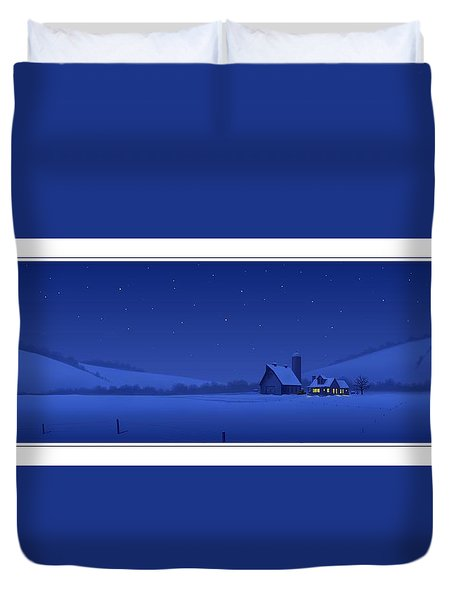 Evening Shade Duvet Cover